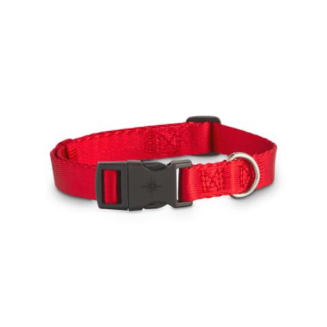 Good2Go Adjustable Red Nylon Dog Collar