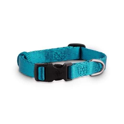 Good2Go Turquoise Herringbone Adjustable Collar