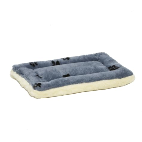 Midwest Quiet Time Reversible Paw Print Bed for Dogs
