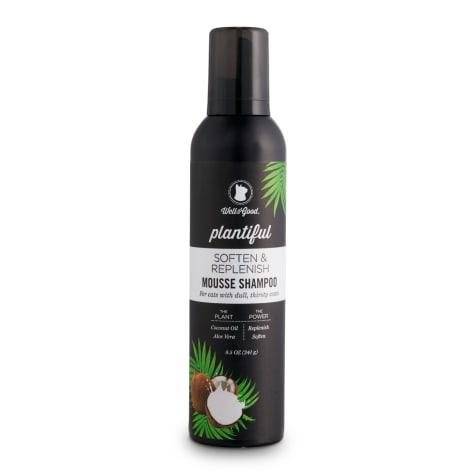 Well & Good Plantiful Soften & Replenish Coconut Cat Mousse Shampoo