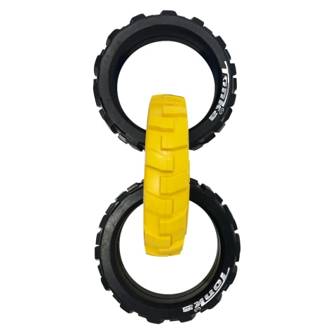 Tonka Flex Tread 3-Ring Tug Dog Toys