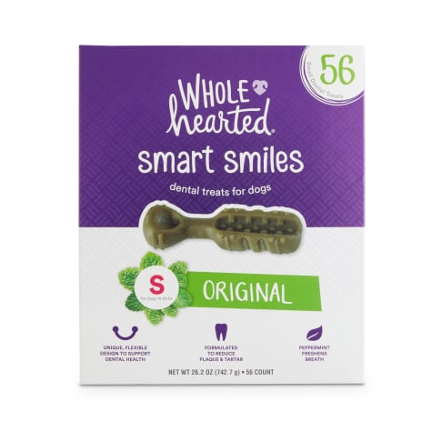 Wholehearted Smart Smiles Original Flavor Small Dog Dental Treats