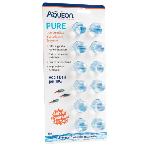 Aqueon PURE Live Beneficial Bacteria and Enzymes 12 ct.
