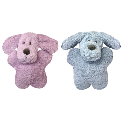 Multipet Aromadog Calming Dog Shaped Fleece Plush Assorted Dog Toy