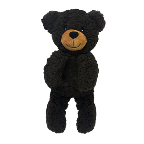 Multipet Rescue Bear Shaped Flattie Dog Toy