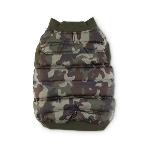 Reddy Green Camo Nylon Dog Bomber Vest