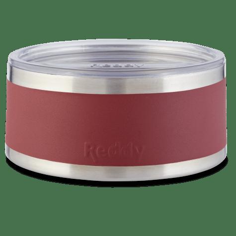 Reddy Burgundy Insulated Dog Bowl