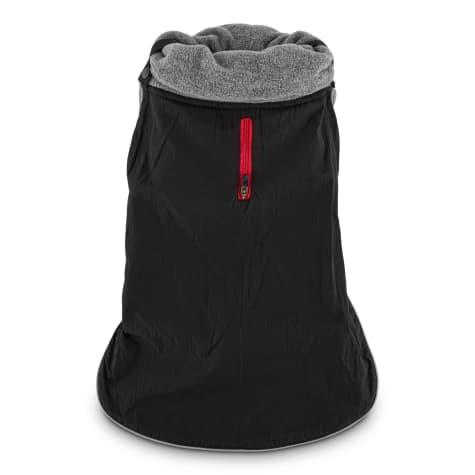 Good2Go Black Funnel Dog Coat