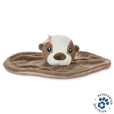 Bond & Co. Recycled & Reinvented Otter Plush Flyer Dog Toy