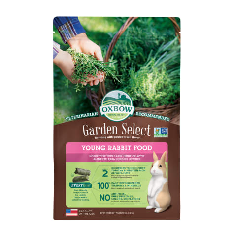 Oxbow Garden Select Young Rabbit Food