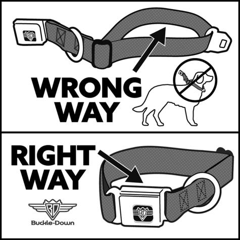 No Love Regular Buckle-Down Seatbelt Belt No Glove