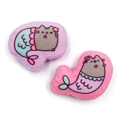 Pusheen Mermaid Crinkle Plush Cat Toy