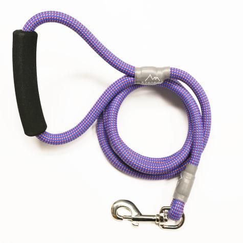 5280 DOG Blue Nylon Braided Rope Leash
