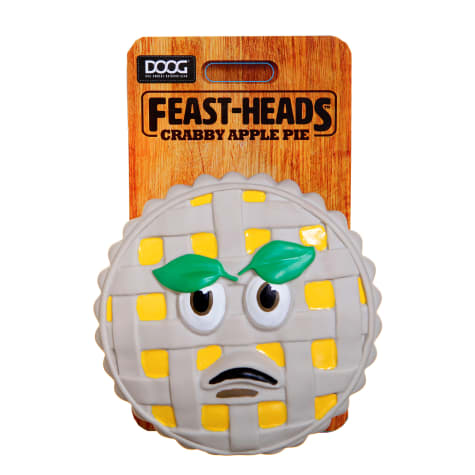 DOOG Dog Owners Outdoor Gear Feast Heads Crabby Apple Pie Squeaky Dog Toy