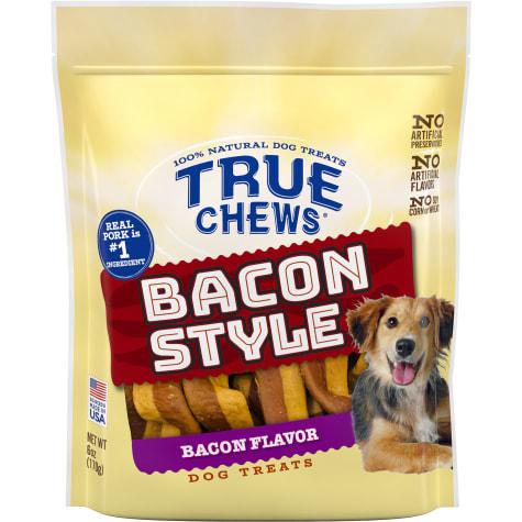 True Chews Bacon Style Bacon Flavor Dog Treats