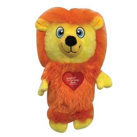 Good Stuffing Plush Squeak Lion Dog Toy