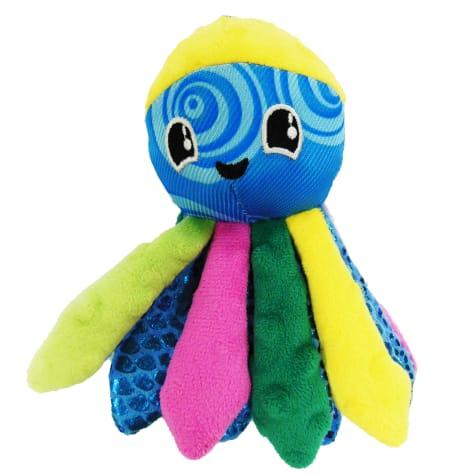 Good Stuffing Plush Squeak Octopus Dog Toy