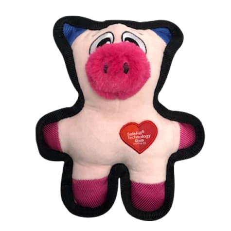 Good Stuffing Tough Plush Pig Dog Toy