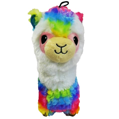 Good Stuffing Plush Squeak Llama Dog Toy