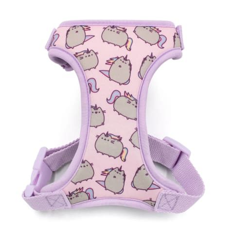 Pusheen Pink Adjustable Cat Harness With Leash