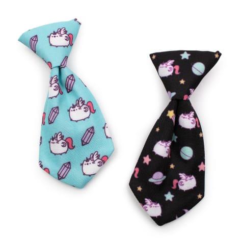 Pusheen Pattern Pet Necktie