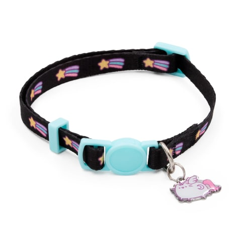Pusheen Black Shooting Star Cat Collar