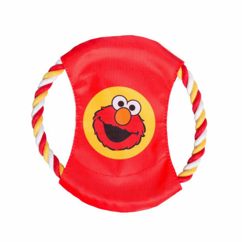 Pet Krewe Elmo Dog Frisbee Dog Toy