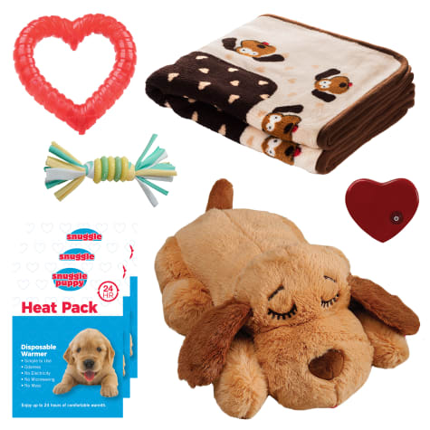 SmartPetLove Snuggle Puppy Behavioral Aid Starter Kit Toy
