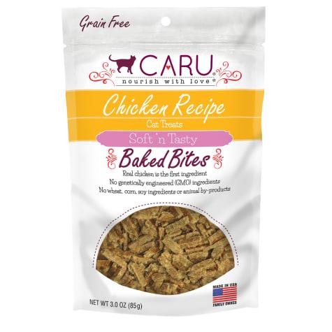 CARU Chicken Recipe Baked Bites Semi-moist Cat Treat