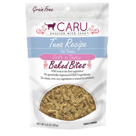 CARU Tuna Recipe Baked Bites Semi-moist Cat Treat