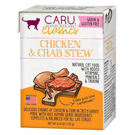 CARU Chicken & Crab Stew Wet Cat Food