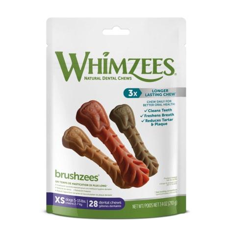 Whimzees Natural Grain Free Daily Dental X-Small Dog Treats
