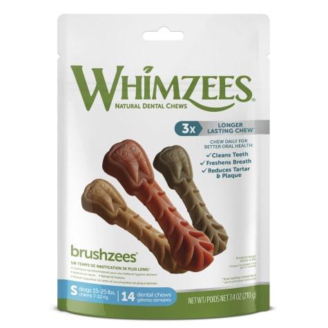 Whimzees Natural Grain Free Daily Dental Small Dog Treats