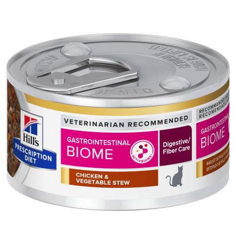 Hill's Prescription Diet Gastrointestinal Biome Feline Chicken & Vegetable Stew Canned Cat Food
