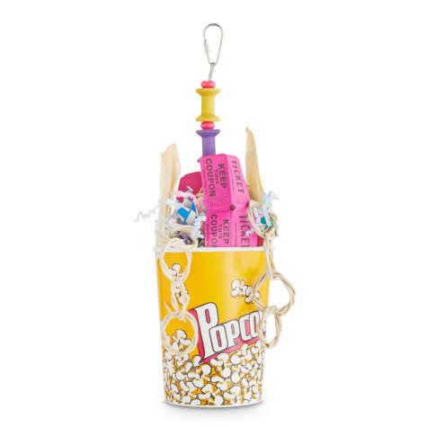 You & Me Premier Fun Popcorn Box Foraging Bird Toy