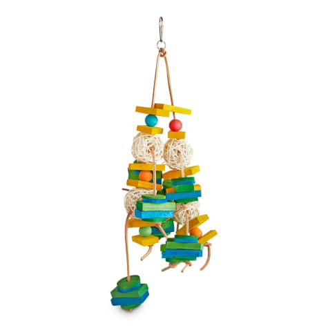 You & Me Jungle Cluster Chewing Bird Toy