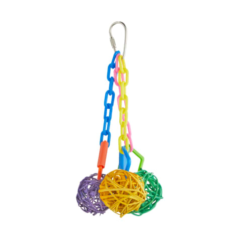 You & Me Ball Cluster Chewing Bird Toy