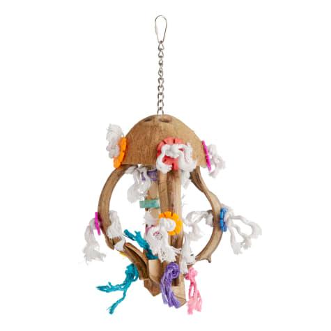 You & Me Jellyfish Preening Bird Toy