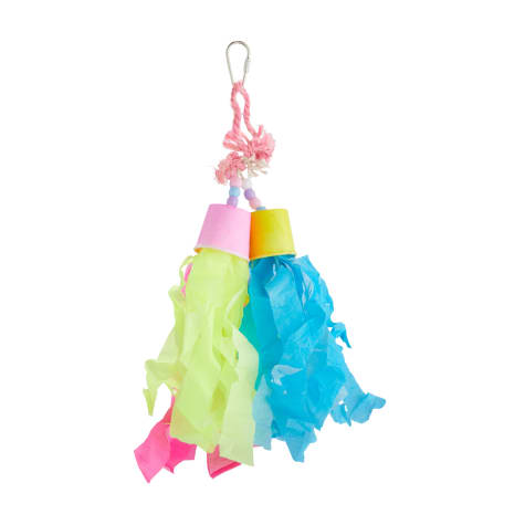 You & Me Rocket Tails Preening Bird Toy