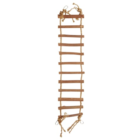 You & Me Chirp Up The Ladder Rope & Wood Bird Perch