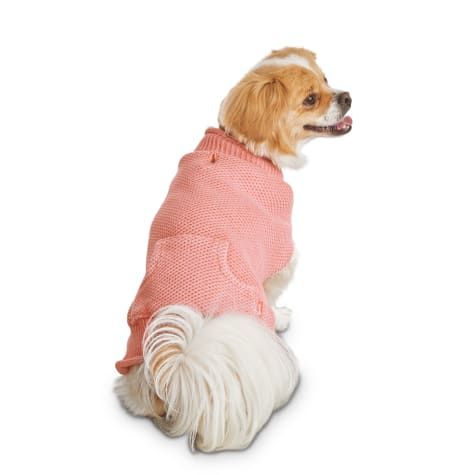 Reddy Coral Knit Dog Sweater
