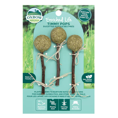 Oxbow Enriched Life Timmy Pops Chew for Rabbits