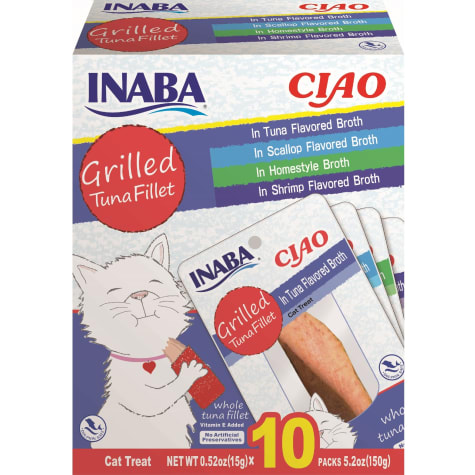 Inaba Ciao Grilled Tuna Fillet Variety Box Cat Treats