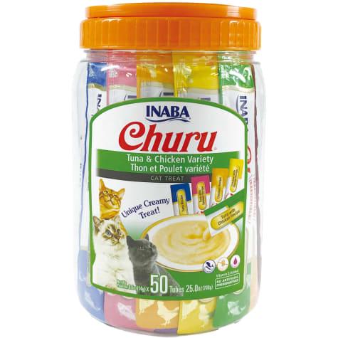 Inaba Churu Tuna & Chicken Variety Pack Cat Treats