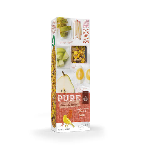 White Mill Treat Stick Apple & Pear Flavor for Canary