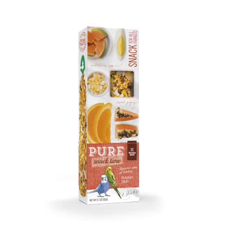 White Mill Gourmet Seed Sticks Papaya & Orange Flavor for Parakeet