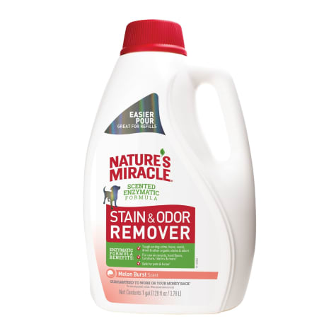 Nature's Miracle Stain & Odor Remover Melon Burst Scent Tough for Dogs