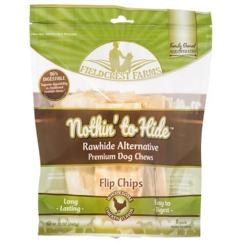 Fieldcrest Farms Nothin' to Hide Chicken Chips Dog Chew