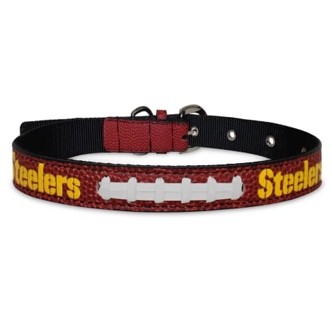 Pets First Pittsburgh Steelers Signature Pro Dog Collar