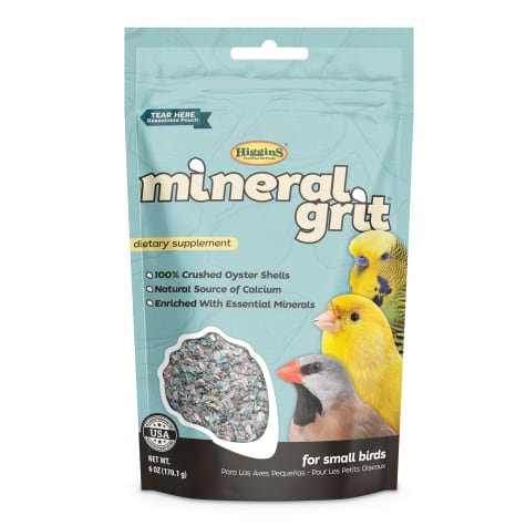Higgins Mineral Grit Dietary Supplement for Small Birds